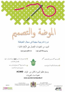 Locandina arabo corso MRE
